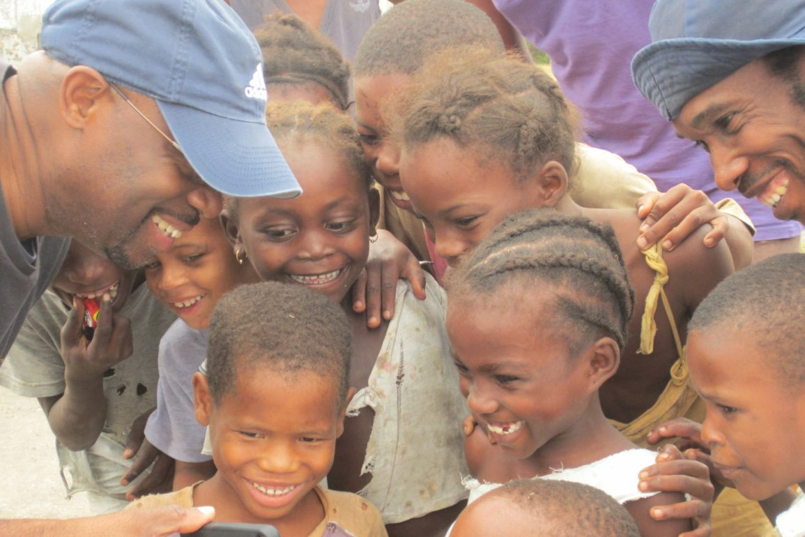 Ronnie J In Sao Tome, West Africa